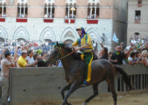 Trials at the Palio of Siena